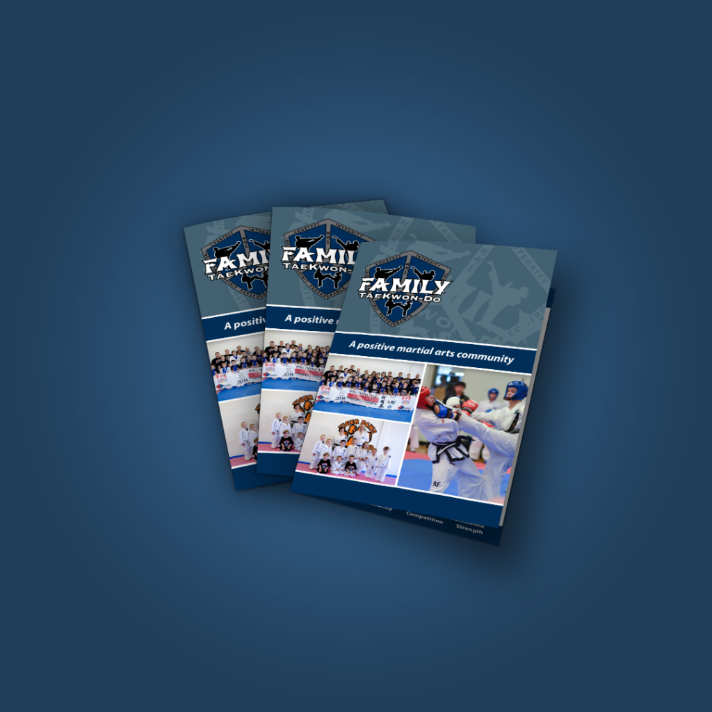 Family Taekwon-Do Brochure